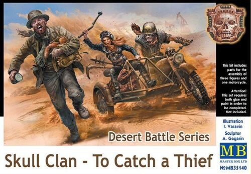 Master Box  MB35140 Desert Battle Series,Skull Clan-To Catch a Thief