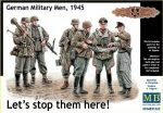 "Master Box Ltd. MB35162 Let´s stop them here"" German military me"