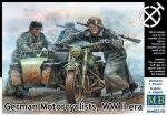 Master Box  MB35178 German motorcyclists, WWII era