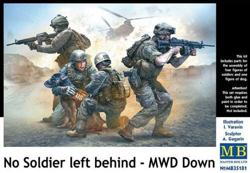 Master Box Ltd. MB35181 No Soldier left behind - MWD Down