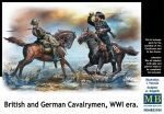 Master Box  MB35184 British and German cavalrymen,WWI era