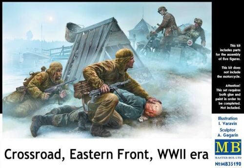 Master Box  MB35190 Crossroad,Eastern Front, WWII era