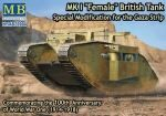 Master Box  MB72004 Mk I Female British tank,Specila modific