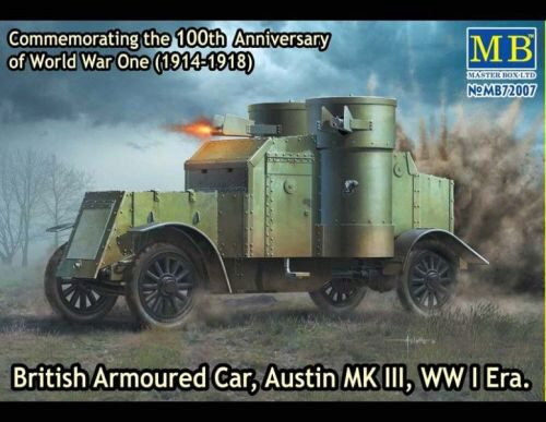 Master Box  MB72007 Austin Mk.III British armored car1914-18
