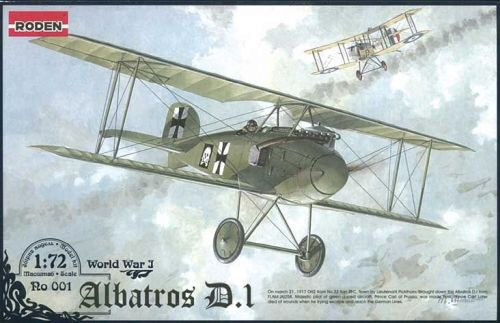 Roden 001 Albatros D.I World War 1