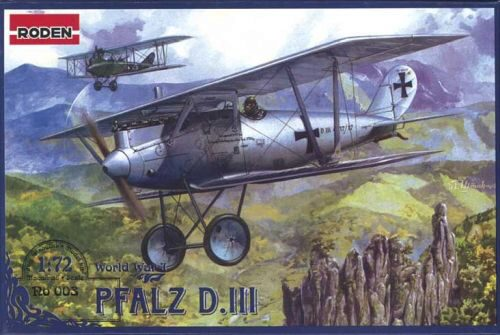 Roden 003 Pfalz D.III World War 1