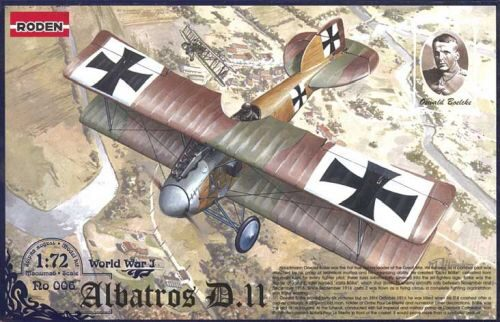 Roden 006 Albatros D.II World War 1