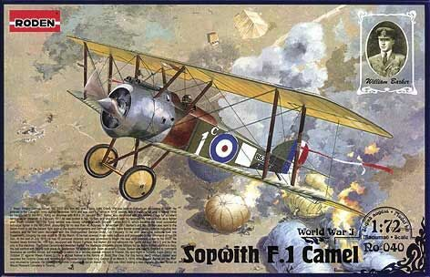 Roden 040 Sopwith Camel F1 ''William Georg Barker''