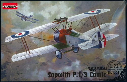 Roden 051 Sopwith F.1/3 Comic Night Interceptor