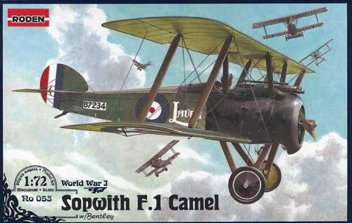 Roden 053 Sopwith F.1 Camel w/Bentley