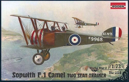 Roden 054 Sopwith T.F.1 Camel Two Seat Trainer