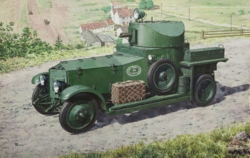 Roden 731 British Armoured Car (Pattern1920 Mk.I)