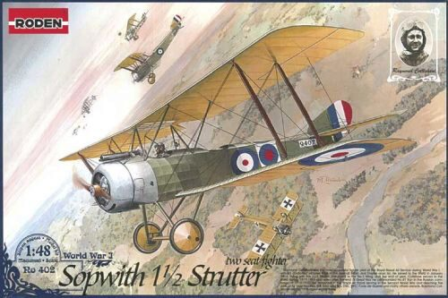 Roden 402 Sopwith 11/2 Strutter two-seat fighter