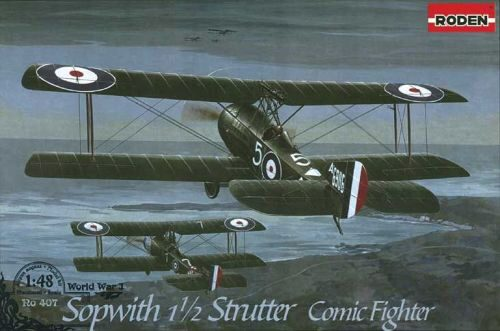 Roden 407 Sopwith 11/2 Strutter Comic fighter