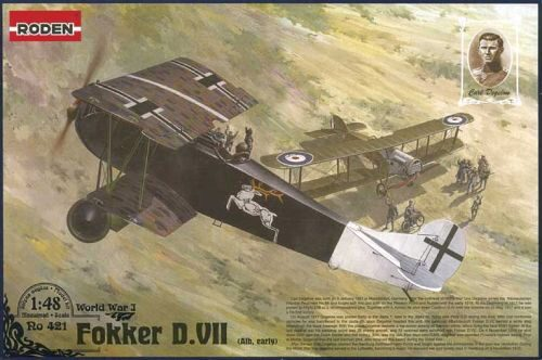 Roden 421 Fokker D.VII (Albatros built, early) Carl Degelow