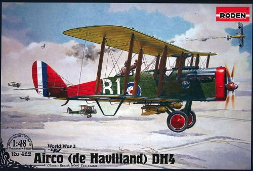 Roden 422 De Havilland D.H.4 (Eagle Engines)