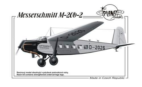 Planet Models 129-PLT196 Messerschmitt M-20 b-2