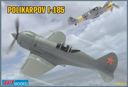 Art Model ART7206 Polikarpov I-185 Soviet fighter