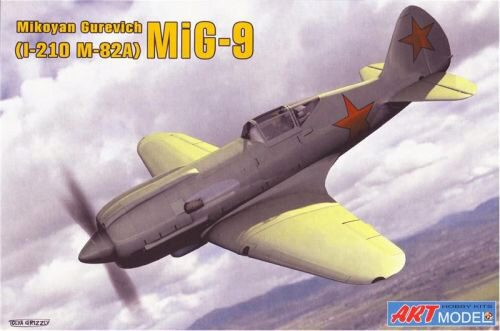 Art Model ART7207 I-210(MiG-9) Soviet fighter
