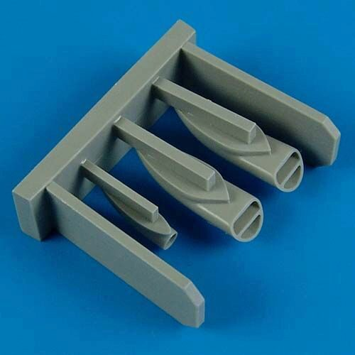 Quickboost QB32 108 MiG-23 Flogger air scoops for Trumpeter
