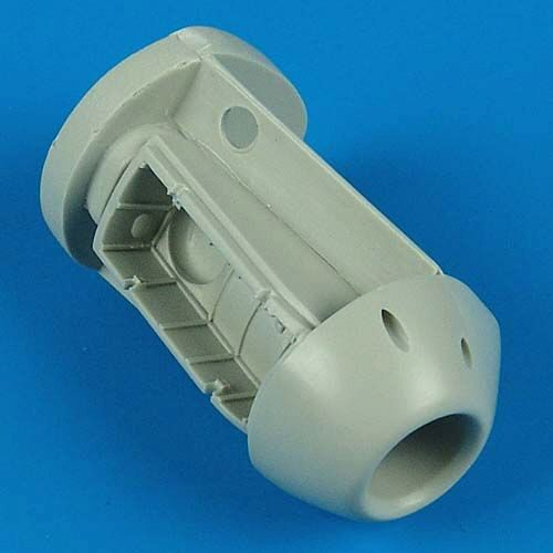 Quickboost QB48 153 FW Ta 183 Air Intake and Front Wheel Well für Tamiya Bausatz/AMT