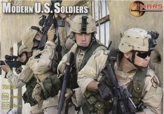 Mars Figures MS72003 US Modern soldiers