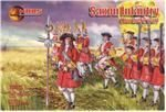 Mars Figures MS72035 Saxon Infantry, Northern war