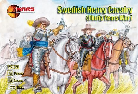 Mars Figures MS72036 Swedish heavy cavalry
