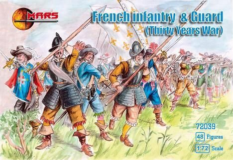 Mars Figures MS72039 French Infantry & guard