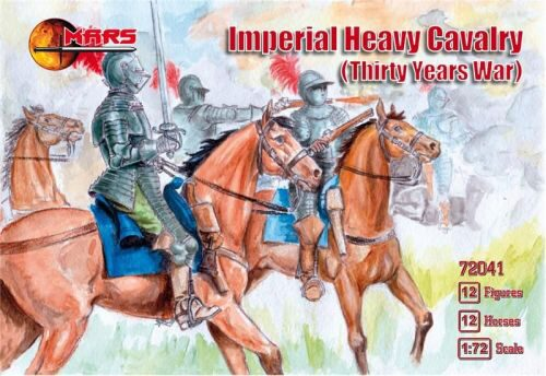 Mars Figures MS72041 Imperial Heavy Cavalery, 30 Years War