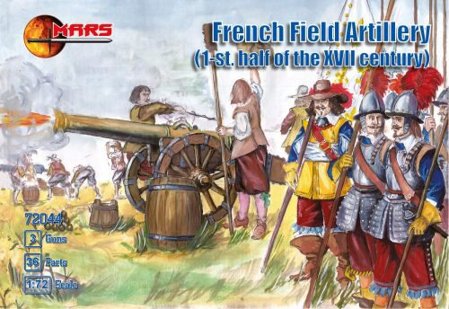 Mars Figures MS72044 French Field Artillery I.half of XVII