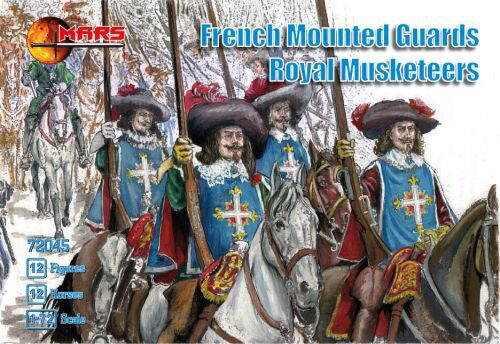 Mars Figures MS72045 French mounted guards, Royal Musketeers