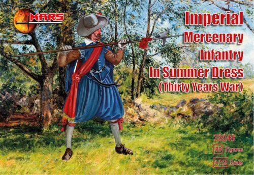 Mars Figures MS72048 Imperial Mercenary infantry in summer