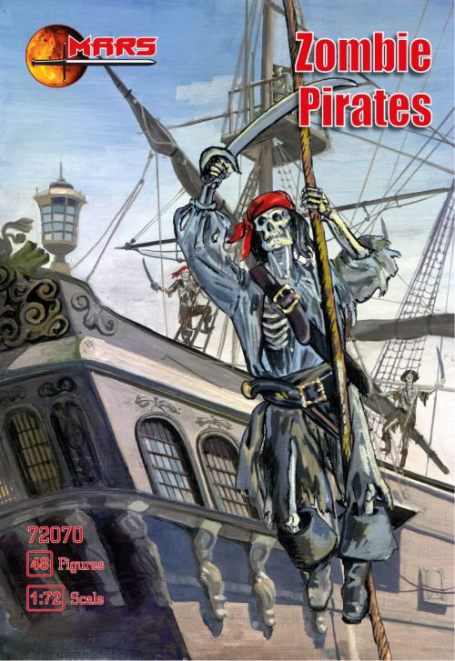 Mars Figures MS72070 Zombie Pirates