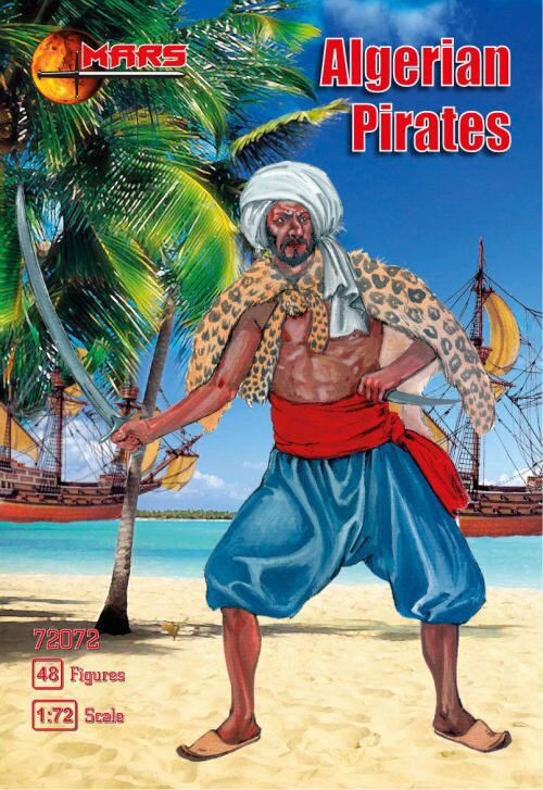 Mars Figures MS72072 Algerian Pirates