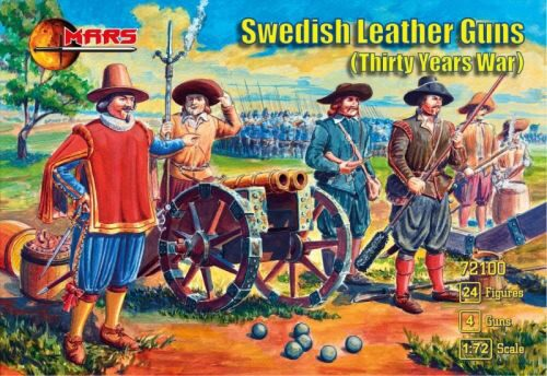 Mars Figures MS72100 Swedish leather guns,Thirty Years War
