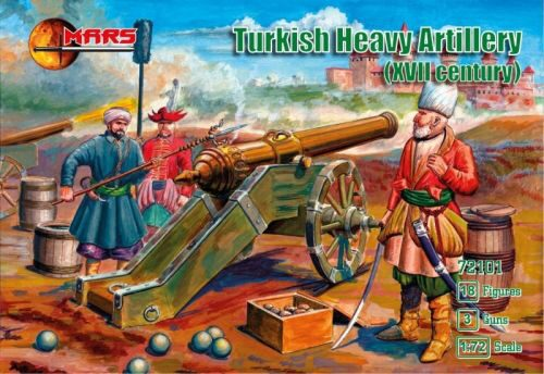 Mars Figures MS72101 Turkish heavy artillery, XVII century