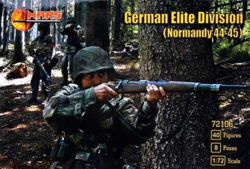 Mars Figures MS72106 German elite division,Normandy 1944-45