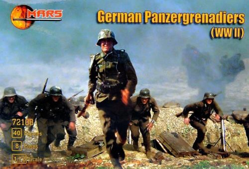 Mars Figures MS72108 WWII German panzergrenadiers