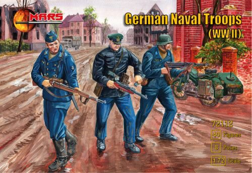 Mars Figures MS72112 WWII German naval troops