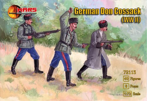 Mars Figures MS72113 WWII German Don cossack