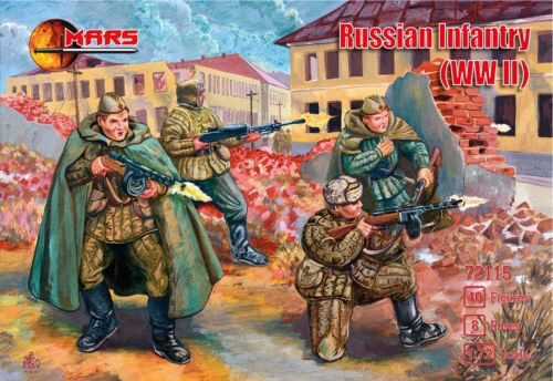 Mars Figures MS72115 WWII Russian infantry