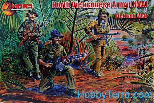 Mars Figures MS32007 NVA (North Vietnamese Army)