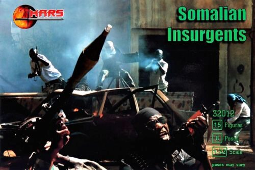 Mars Figures MS32012 Somalian Insurgents