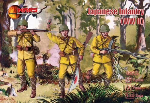 Mars Figures MS32015 WWII Japanese Infantry