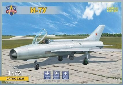 Modelsvit MSVIT72027 I-7U Supersonic interceptor prototype