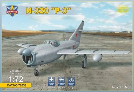 "Modelsvit MSVIT72038 I-320""R-3"" All-weather interceptor prototype"