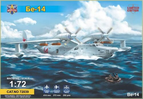 Modelsvit MSVIT72039 Beriev Be-14 all-weather SAR flying boat