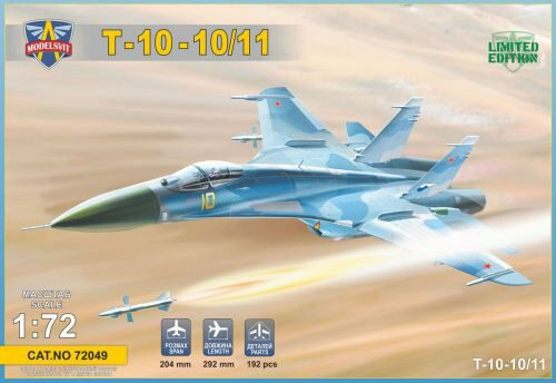 Modelsvit MSVIT72049 T-10-10/11 Advanced Frontline Fighter (AFF) prototype