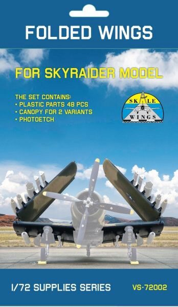 Modelsvit SW/VS72002 Folding wing set for AD-5 SkyRaider